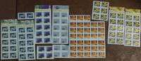 A lot of Swiss stamps!